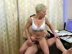 A Younger Guy Bones An Older MILF At Home