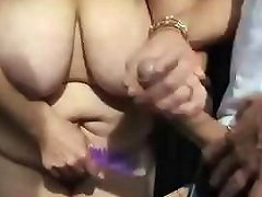 Blonde Granny Is Changing And Gets Nailed By A Younger Boy