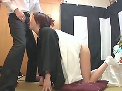 Subtitled Japanese Funeral Blowjob With Enema Explosion