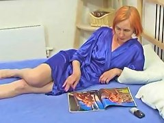 Horny Granny Makes The Most Of Three Young Cocks Porn 56