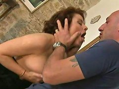 Madly Horny Mature Mom Roberta Is Getting Banged Hard Doggy Style