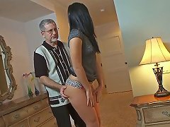 Ashli Orion Loves Mature Men Because Their Are Rather Experienced And Her Babysitter In Good Example