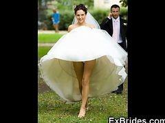 Wedding Day Upskirts