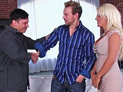 Shared Blonde Wife Has A Great Time Fucking Another Man