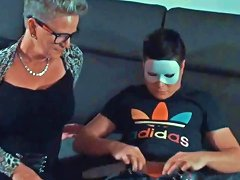 Granny Sucking And Fucking Masked Young Boy Free Porn 76