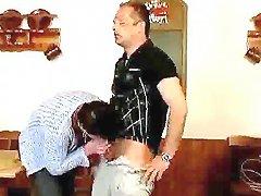 German Fuck Scene With An Elder Couple Fucking Like Crazy