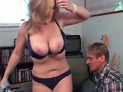 Curvy Mom Moans As She Gets Finger Fucked